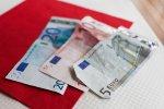 gotówka, pieniądze, euro