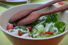 pyszna sałatka warzywna