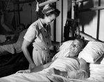 Pielęgniarka przy pacjęcie